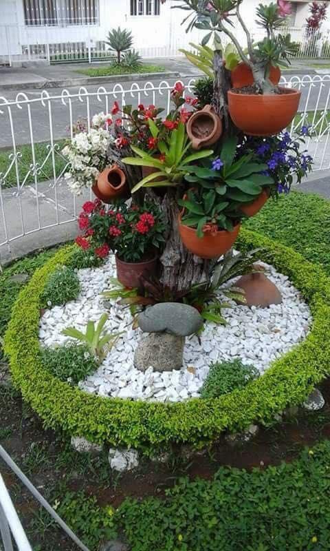 Bahçe Çiçekleri Süslemeleri